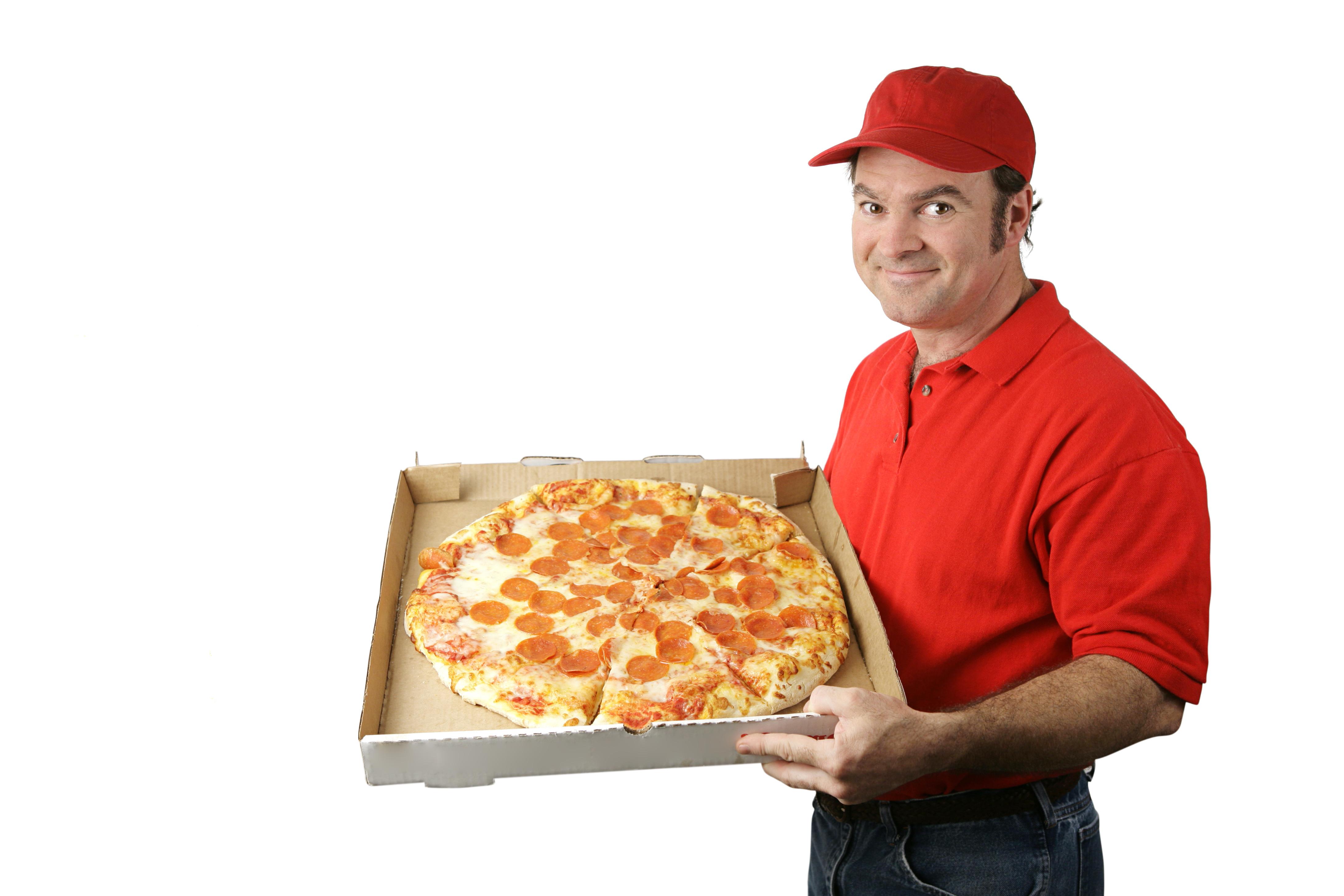 Почему круглую пиццу приносят в квадратных коробках